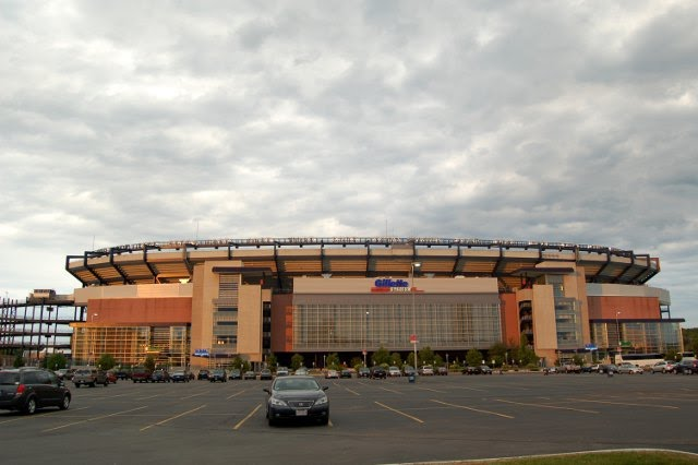 Gillette Stadium Home of the New England Patriots