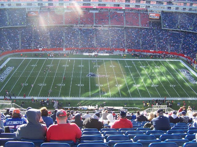 New England Patriots Upper Level Sideline